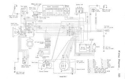 Honda 90S Wiring Schematic