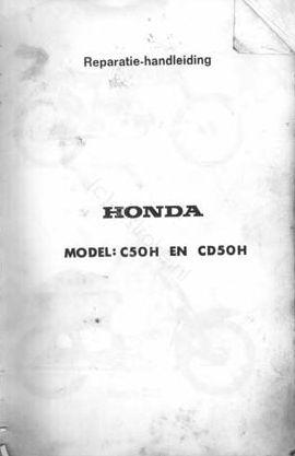 Workshop Manual for Honda CD50H (Dutch)